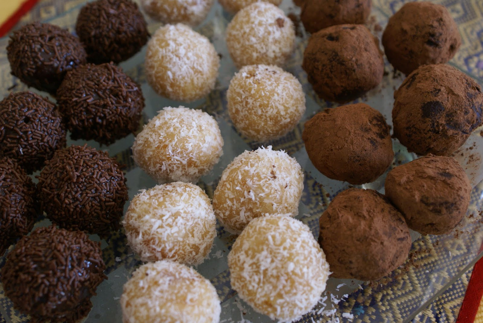 countdown to christmas truffles and rum balls