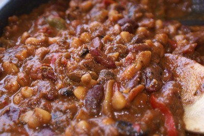 Day 13 – Chilli Beans and Lentils