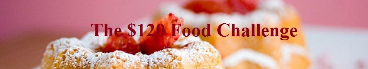 The $120 Food Challenge