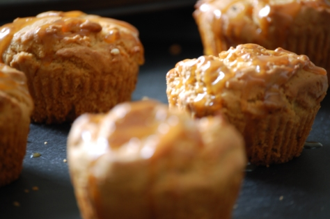 Salted Caramel Muffins