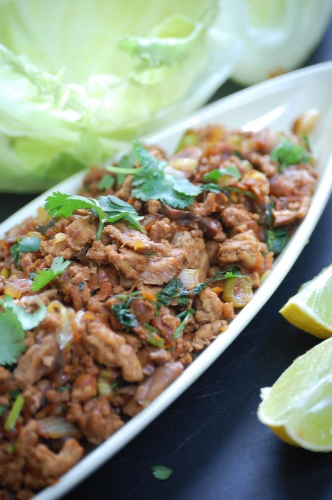 Pork and Lime San Choy Bao