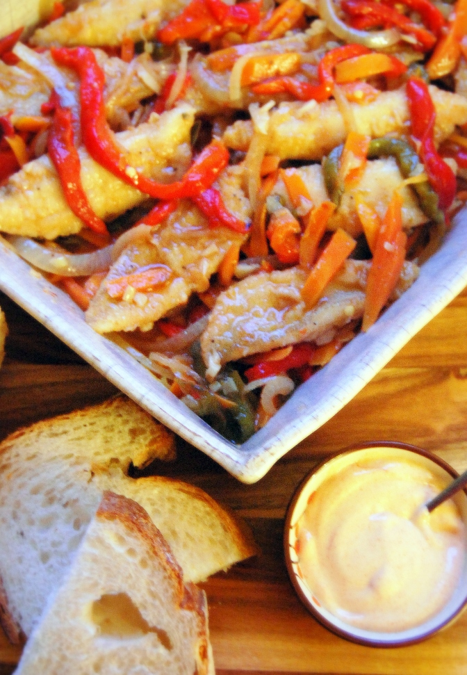 Whiting Escabeche
