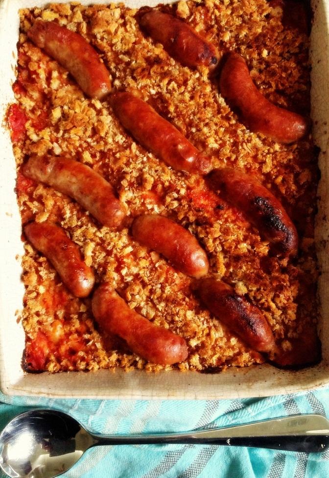 Sausage and Leek Casserole