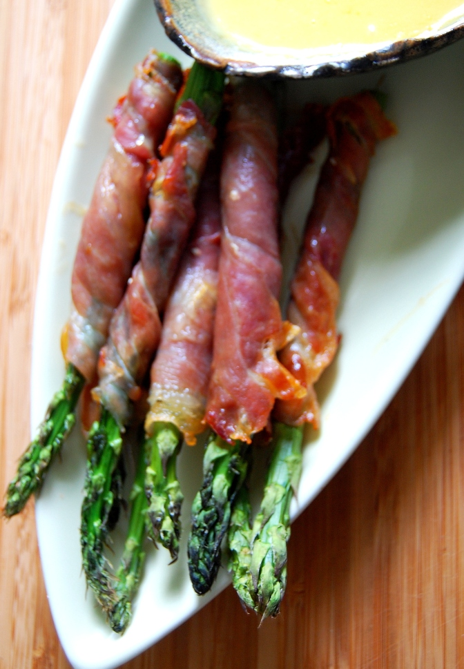 Christmas – Jamon and Asparagus 'Wraps'