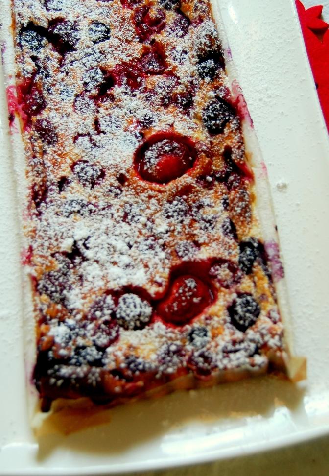 Christmas – Berry Clafoutis