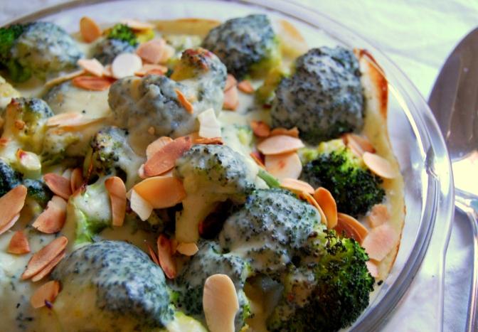 Christmas – Broccoli and Blue Cheese Gratin