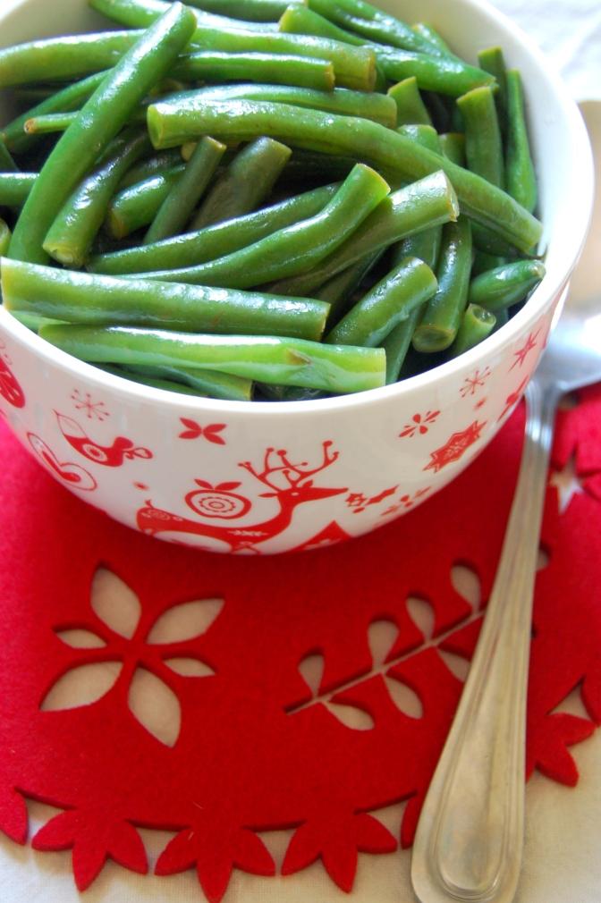 Christmas – Lemony Green Beans