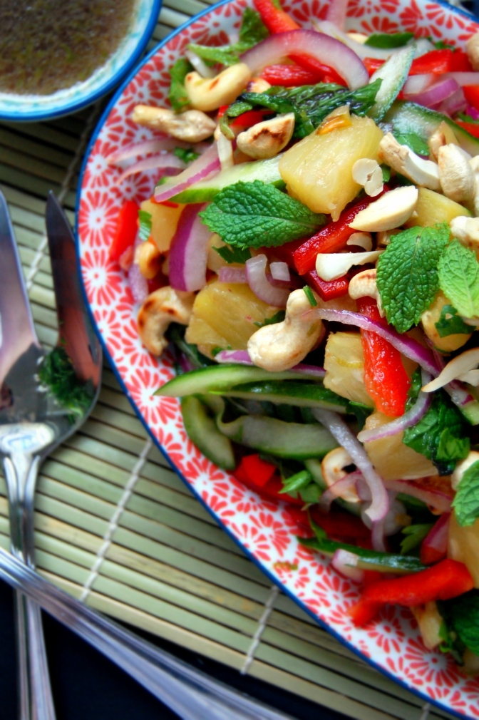 Day 2 – Spiced Pineapple Salad