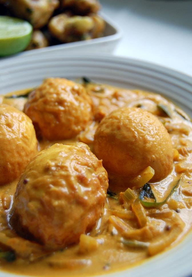 Day 3 – Sri Lankan Egg Curry