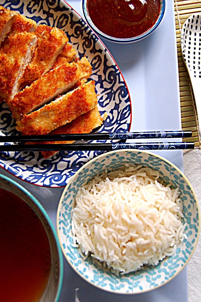 Day 8 – Katsu Chicken with Tonkatsu Sauce