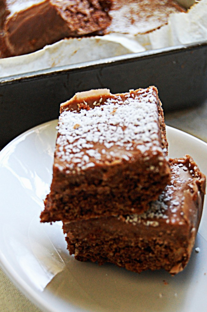 Sweet Treats – Nutella Weetbix Slice