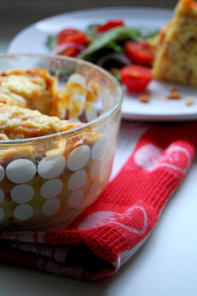 Day 11 – Savoury Bread Pudding