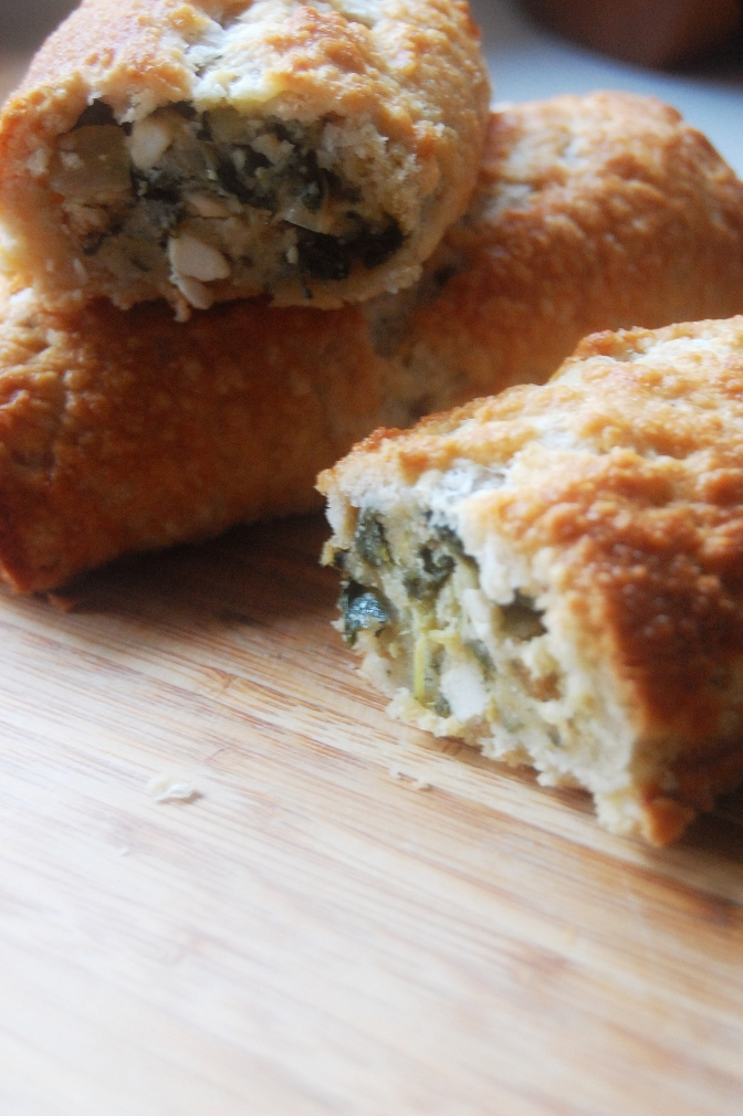 Day 13 – Spinach and Fetta Rolls